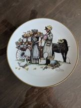 """Norman Rockwell """"The Country Pedlar"""" 1978 Plate 3154 of 7500 Lot HE - $11.00"""