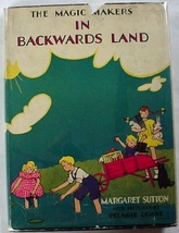 The Magic Makers in Backwards Land Judy Bolton author Margaret Sutton hcdj - $24.00