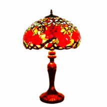 Amora Lighting AM1535TL16 Tiffany Style Red Ros... - $196.95
