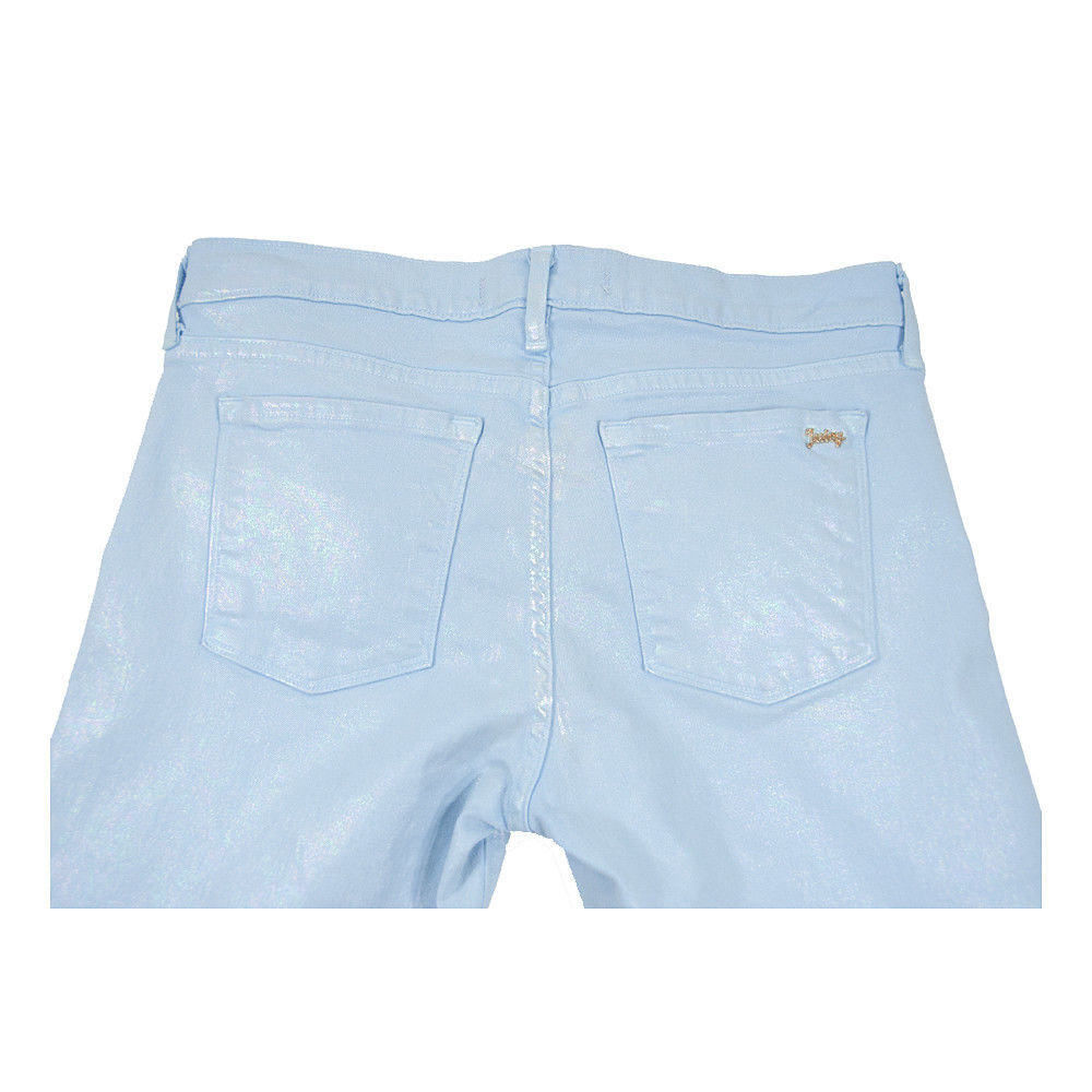 Juicy Couture Black Label Malibu Sky Iridescent Stretch Skinny Jeans 30 NWT image 7