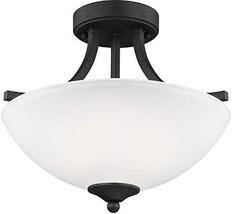 Sea Gull Lighting Generation 7716502-839 Transitional Two Light Semi-Flu... - $137.86