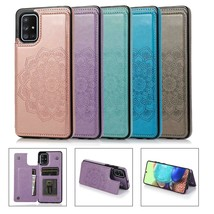 Magnetic Wallet Case Leather Flip Cover for Samsung S20 S10 S9 Note 9 10 A51 A71 - $62.46