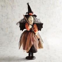 "NWT PIER1 Halloween BATTY WITCH  Sculpture Figurine NWT 25"" TALL - $58.85"