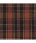 4.75 yds Ralph Lauren Upholstery Fabric Ian Plaid Wool Balmoral Red QH - $676.88