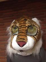 Maskimals Tiger Halloween Costume Head Mascot Adult Mask Furry Cosplay NEW - £30.43 GBP