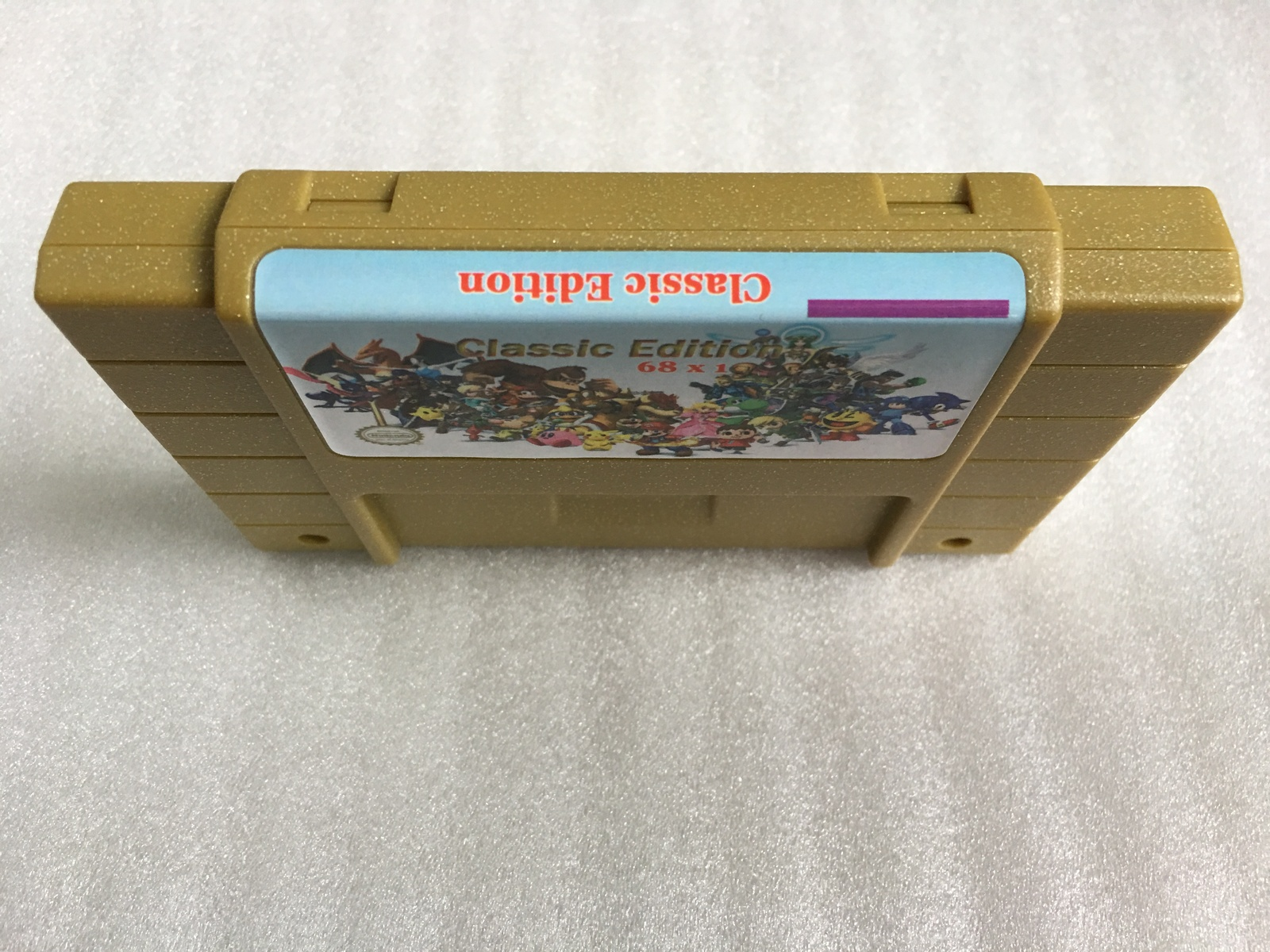 classic edtion super games 68 in 1 video game cartridge 25 game Can Battery Save