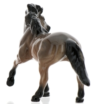 Hagen-Renaker Miniature Ceramic Horse Figurine Wild Mustang Stallion image 3