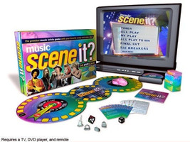 BRAND NEW FACTORY SEALED SCENE IT? MUSIC DVD BOARD GAME - $22.46