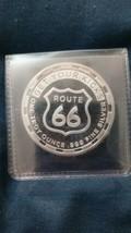 1 oz Silver Round - Get Your Kicks - Route 66 - $42.00