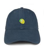 Trendy Apparel Shop Lemon Emoticon Embroidered 100% Soft Brushed Cotton ... - $18.99