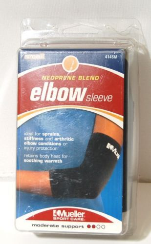 Mueller 414SM Neoprene Blend Elbow sleeve Size Small Color Black
