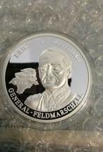 Erich Von Manstein .999 Fine Silver Nazi Medallion with COA - $24.99