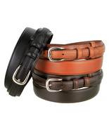"Men's Belt Oil-Tanned Genuine Leather Ranger Belt 1-3/8"" Wide - $24.29"