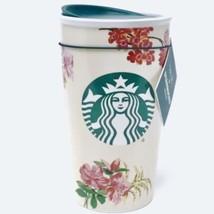 Starbucks Holiday 2018 Ban.do Floral Travel Mug 12 Oz - $43.90