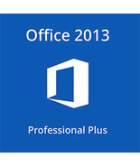 Microsoft Office 2013 Professional Plus 32/64 Bit Key With Download - $7.50