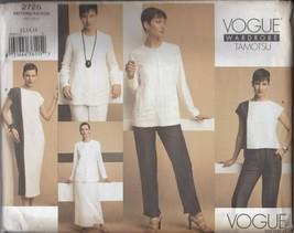 Vogue American Designer 2725 Tamotsu Women's Capsule Wardrobe 12-14-16 UC - $9.85