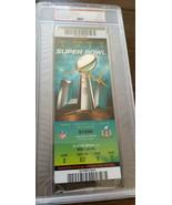 Super Bol L1 51 Complet Billet Patriots Falcons Signé Auto Tom Brady PSA... - $9,986.81