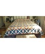 Pottery Barn Teen JUNK GYPSY DESERT DREAMS Flannel Duvet Cover QUEEN NWO... - $149.99