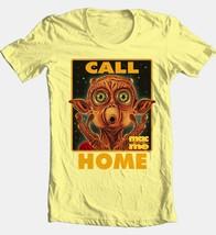 Mac and Me T-shirt Phone Home retro 80s 90s movie cotton yellow graphic tee image 2