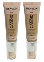 Lot of 2, Revlon PhotoReady Candid Anti-Pollution Foundation 120 Buff Ch... - $10.98