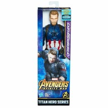 Captain America Marvel Infinity War Titan Hero Titan Hero Power Fx Port HASBRO - $9.09