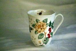 Lenox Butterfly Meadow Holiday Jasmine And Dragonfly Mug 12 oz. NWT - $12.59