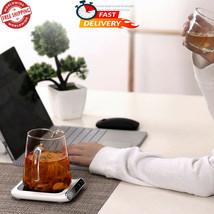Smart Coffee Mug Warmer Cup Heater USB Quick Heating Tea Pad Bottle Plat... - $23.36