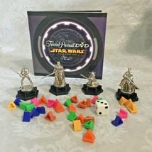 Replacement Pieces Trivial Pursuit Star Wars Saga DVDs, 4 Tokens, Dice &... - $12.19