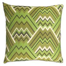 Maze Green Feather Down Pillow - $29.99