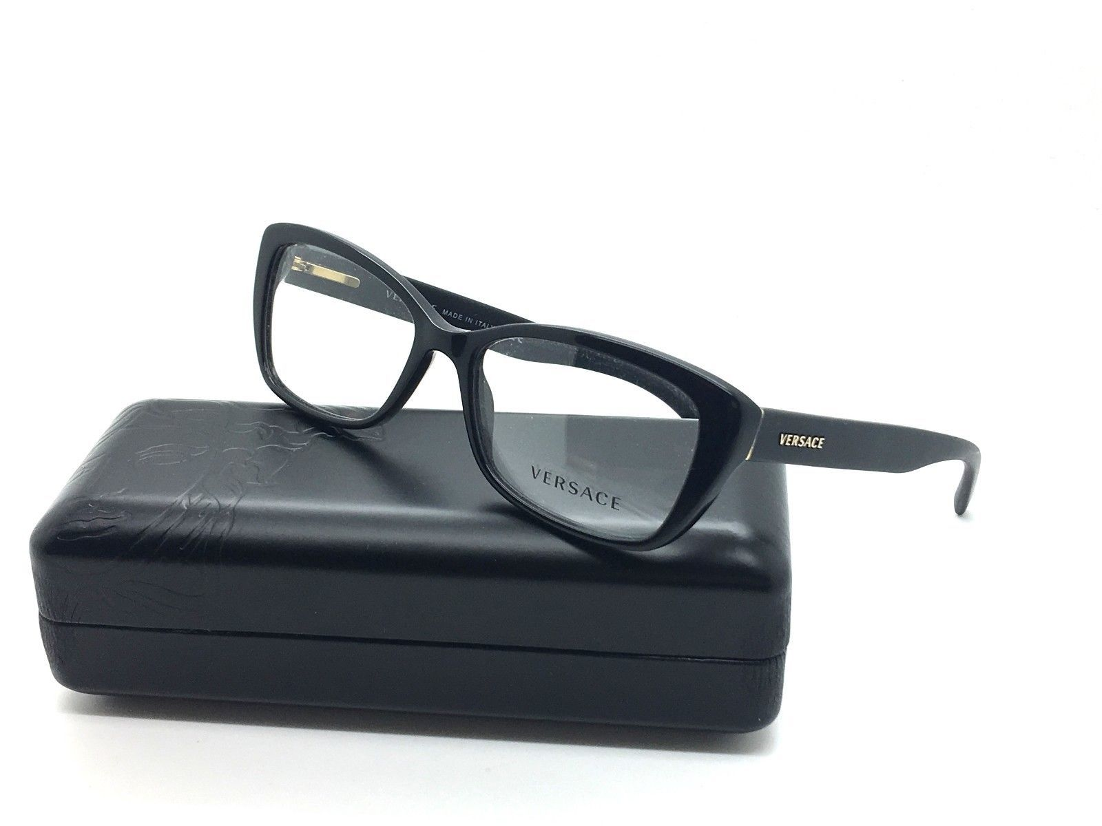5e6949b980850 New Versace Eyeglasses VS 3201 GB1 Black and 10 similar items