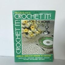 McCalls How To Crochet It Magazine Summer 1975 Book V  - $12.87