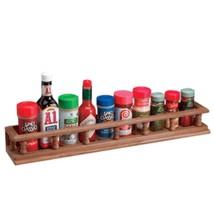 Whitecap Teak Large Spice Rack - £60.00 GBP