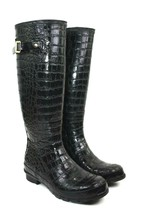 Christian Siriano For Payless Women's Knee High Rubber Rain Boots Galoshes Sz 7  - $39.55