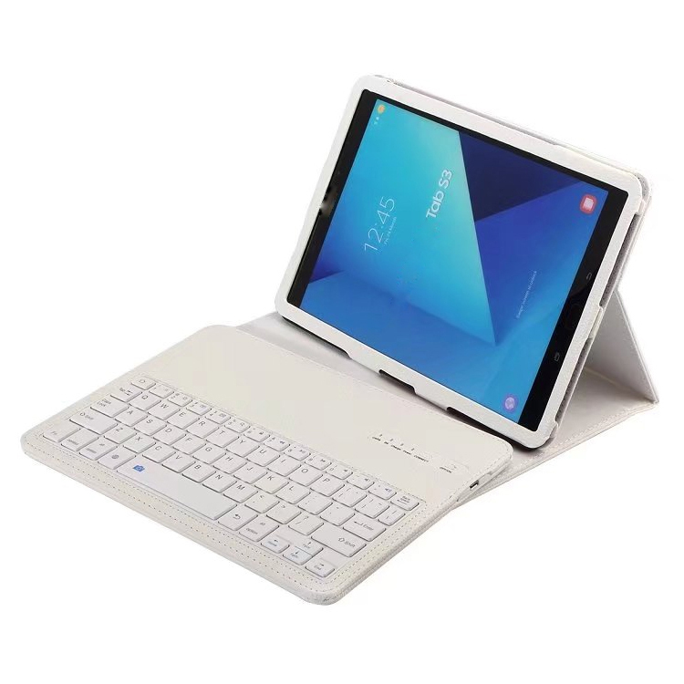 Wireless keyboard stand leather case for samsung galaxy tab s3 9 7 t820 white p20170412073723837