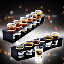 SELECT ACRYLIC CUP HOLDER 6 HOLES 40ML 6 Cups LEIZHEN Bullets cup holder... - $47.49+