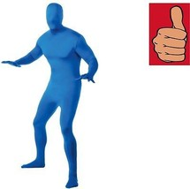 Costume - Adult - 2nd Skin - Blue - Medium - Zentai Full Body Stretch Ju... - $24.03