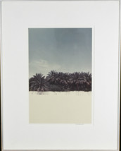 Untitled (Palm Trees) Signed Photograph By Chet d'Autremont Framed 21 1/... - $74.25