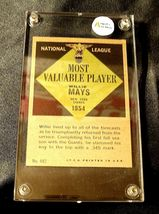 Willie Mays Baseball Trading Card # 482 AA19-BTC4007 Vintage Collectible image 4