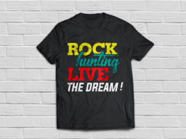 Color Rock Hunting Shirts Impressive Rock Collecting Gifts - $18.95
