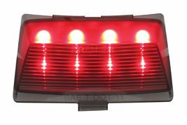 8 LED Harley Fender Tip Light - Red LED/Smoke Lens - $23.75
