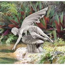 Fairy Patio Statue Garden Sculpture Lawn Backyard Stone Outdoor Decorati... - €103,27 EUR