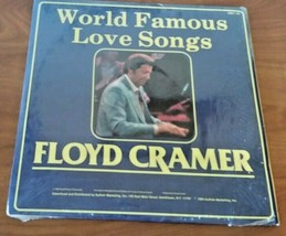 Floyd Cramer Treasury Of Favorites / World Famous Love Songs 2 Record Al... - $12.86