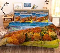 3D Mountains 026 Bed Pillowcases Quilt Duvet Cover Set Single Queen King Size AU - $90.04+