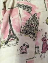3 Sisters Womens M Paris France Ivory Flip Cuff Long Sleeve Button Jacket