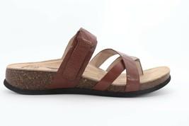 Abeo Bryce Slides Sandals Dark Brown Women's Size 7.5  Neutral Footbed (EP )4095 - $96.00