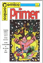 Comico Primer Comic Book #1, Comico 1982 VERY FINE+ - $13.08