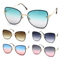 Womens Expose Lens Bow Shape Butterfly Chic Sunglasses - $14.95