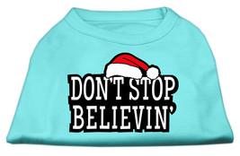 Don't Stop Believin' Screenprint Shirts Aqua XL (16) - $11.98