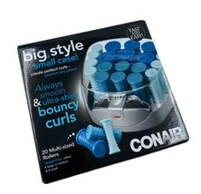 CONAIR Big Style Small Case Hot Rollers Curls - $34.64