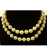 Vintage Adjustable JOAN RIVERS Pearl Necklace Quality Made - $19.99